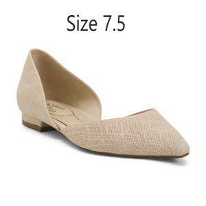 Slip on Comfort Flats, Size 7.5